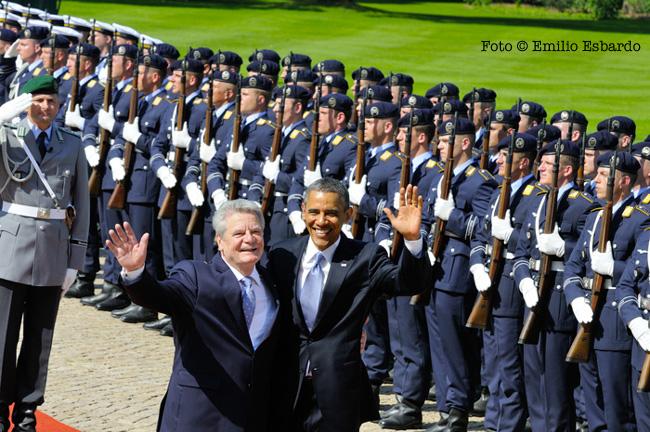 Barack Obama e il Presidente della Germania Joachim Gauck